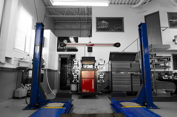 3d Wheel Alignment And Balancing Robotic Tire Changing